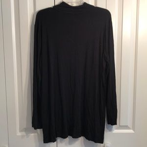 Chico's Tops - Chico zenergy size 3 black tunic button detail